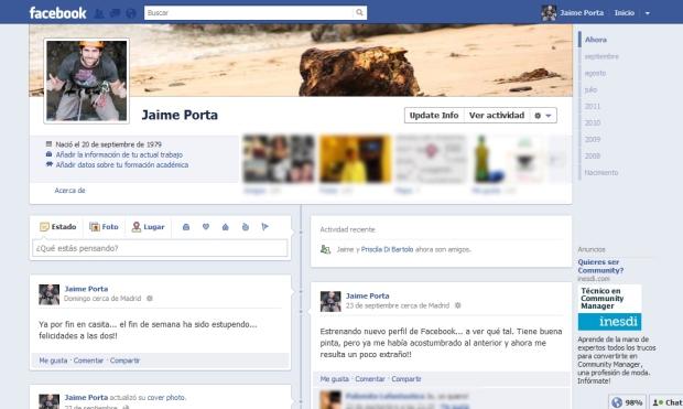 Facebook Nuevo Perfil 001