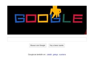 Doodle conmemorativo de Google en honor a Saul Bass