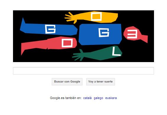 Doodle conmemorativo de Google en honor a Saul Bassass