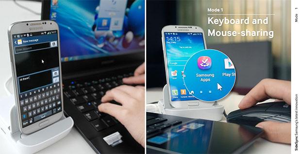 Aplicación Samsung SideSync para Android