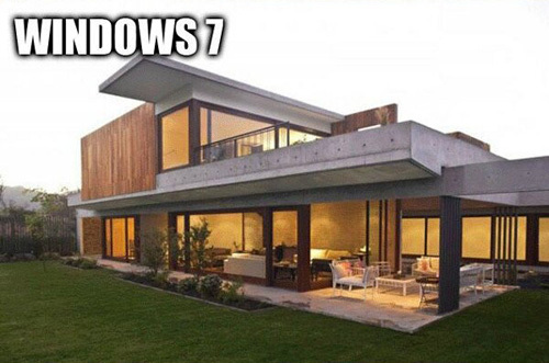 Símil de Windows 7