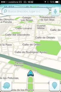 Creando la ruta a nuestro destino con Waze