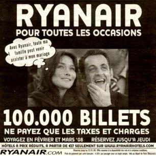Campaña de Ryanair en España
