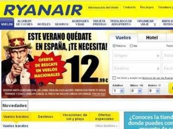 Publicidad de Ryanair