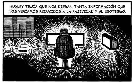 Huxley como la información no hace egoistas