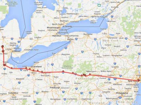 google-location-history-map