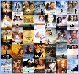 Carteles de películas románticas