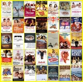 Cateles de películas en cama
