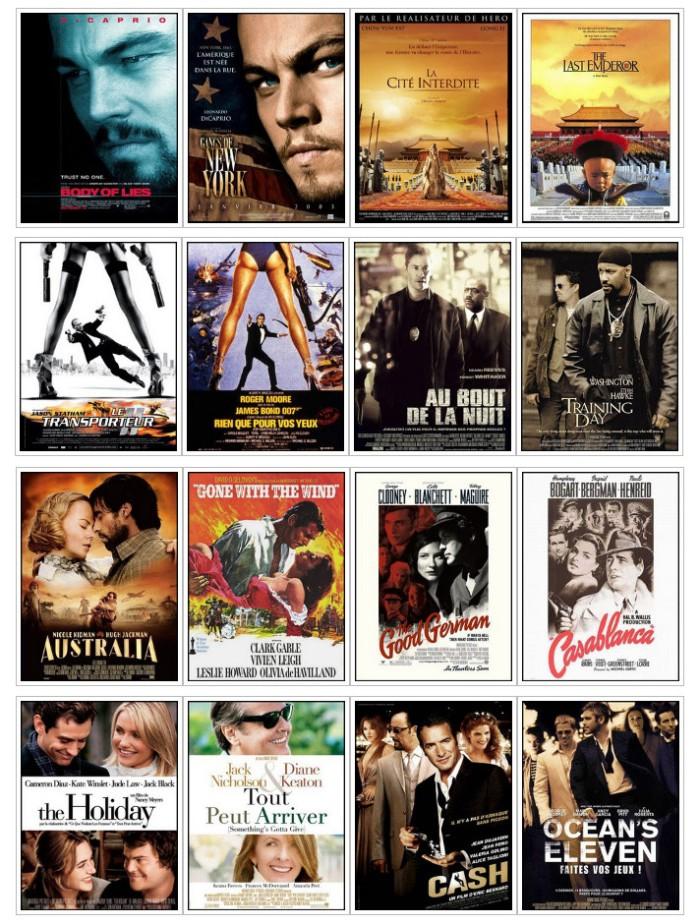 Ejemplos de plagio en carteles de película