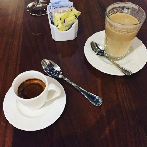 La cucharita del café