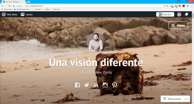 Nuevo dominio para mi blog: jaimeporta.com