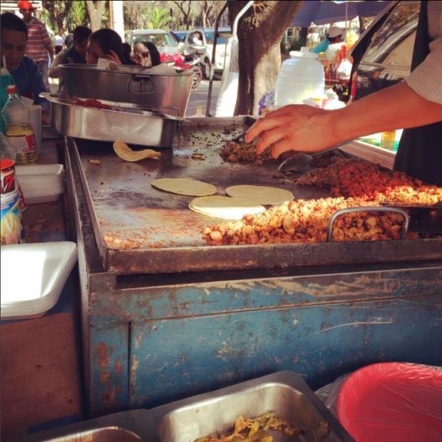 Comercio informal - Tacos 01